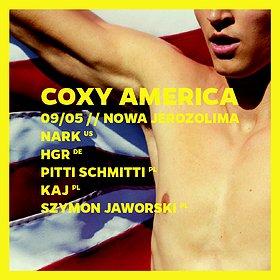 Imprezy: COXY AMERICA