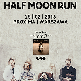 Koncerty: HALF MOON RUN