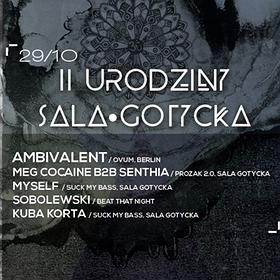Events: Ambivalent / Ovum, Berlin : 2 urodziny Sala Gotycka