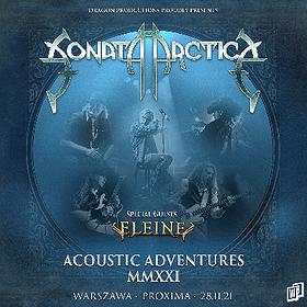 """Hard Rock / Metal : Sonata Arctica """"Acoustic Adventures 2021"""""""