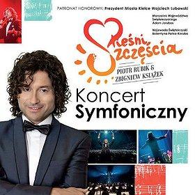 """Koncerty: Koncert """"Pieśni Szczęścia"""" - Piotr Rubik"""