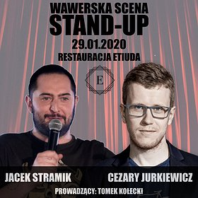 Stand-up: Wawerska scena stand-up: Stramik x Jurkiewicz x Kołecki