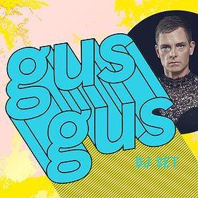 Muzyka klubowa: GusGus DJ SET (+Biggi Veira)