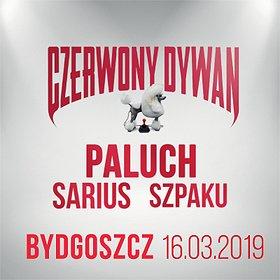 Concerts: Paluch x Szpaku x Sarius Bydgoszcz