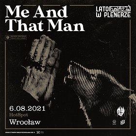 Pop / Rock: Lato w Plenerze   Me And That Man   Wrocław