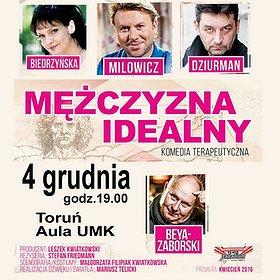 """Teatry: """"Mezczyzna Idealny"""" w Toruniu!"""