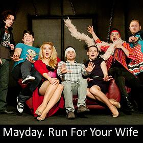 Teatry: Mayday. Run For Your Wife - Spektakl odwołany