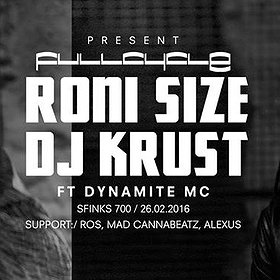 Imprezy: RONI SIZE & DJ KRUST presents FULL CYCLE SOUND