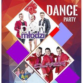 Disco: DISCO-PARTY w Tomaszowie Mazowieckim: PIĘKNI I MŁODZI, CLIVER, DILEY