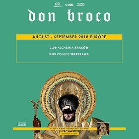 Koncerty: Don Broco - Kraków