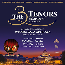 : The 3 Tenors & Soprano | Wrocław