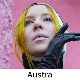 Koncerty: AUSTRA