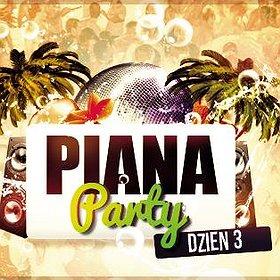 Events: PIANA PARTY VOL 3 ALEX RED