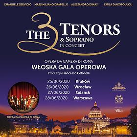 : The 3 Tenors & Soprano | Warszawa