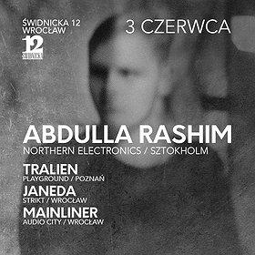 Imprezy: Abdulla Rashim (Northern Electronics / Sztokholm)