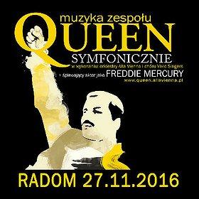 Koncerty: QUEEN SYMFONICZNIE w Radomiu
