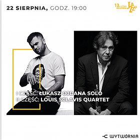 Jazz: LAJ XIII - LOUIS SCLAVIS QUARTET / ŁUKASZ OJDANA SOLO