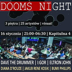 Imprezy: DOOMS NIGHT