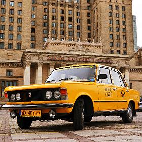 Rekreacja: Dużym Fiatem po Warszawie | 05.07