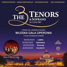 : The 3 Tenors & Soprano   Katowice