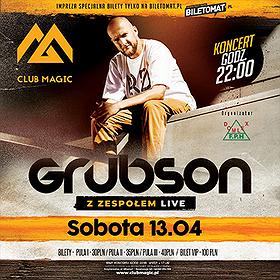 Hip Hop / Reggae: Koncert z zespołem GrubSon & live Band