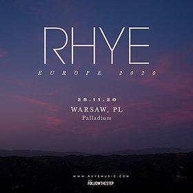 Pop / Rock: RHYE