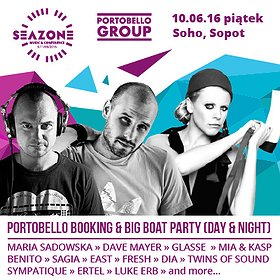 Imprezy: Portobello Booking & BIG BOAT PARTY (DAY & NIGHT) / SeaZone Music & Conference 2016