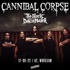 Hard Rock / Metal : CANNIBAL CORPSE + THE BLACK DAHLIA MURDER   WROCŁAW