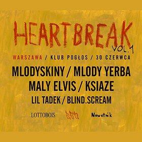 Koncerty: Heartbreak vol. 1