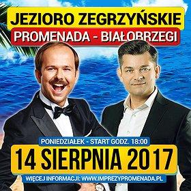 Disco: Zenon Martyniuk i Sławomir nad Jeziorem Zegrzyńskim