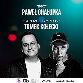 Stand-up: Stand-up Zgorzelec: Paweł Chałupka & Tomek Kołecki