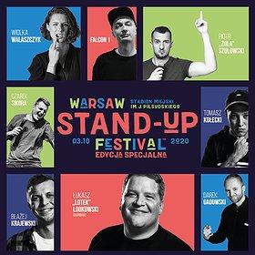 Stand-up: Warsaw Stand-up Festival 2020 / Stadion Miejski