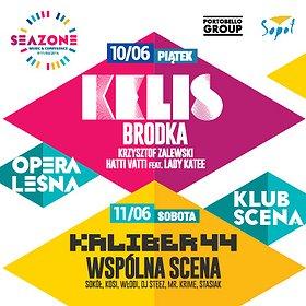 Koncerty: KARNET 3 DNI koncertów + 3 DNI - KLUBY / KELIS, BRODKA, KALIBER 44 I DUŻO WIĘCEJ