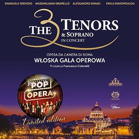 : The 3 Tenors & Soprano - POP OPERA ITALY | Szczecin