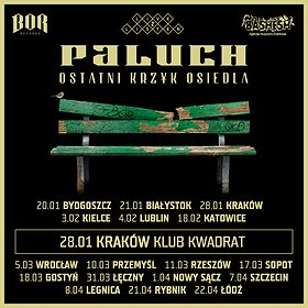 Koncerty: Paluch, Ostatni Krzyk Osiedla, Kraków