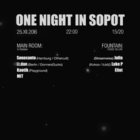Imprezy: One Night In Sopot - Christmas Edition