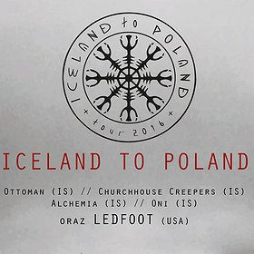 Concerts: ICELAND TO POLAND