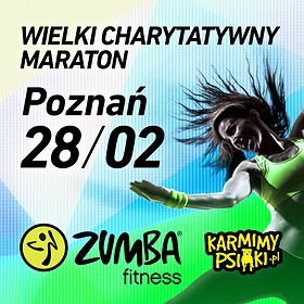 Rekreacja: Maraton Zumby dla Karmimy Psiaki - Poznań