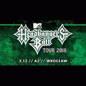 Koncerty: MTV Headbanger's Ball Tour 2018