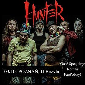Hard Rock / Metal: HUNTER   Poznań
