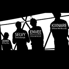 Imprezy: KIXNARE x ENVEE x SELVY x JĘDREK B-Day