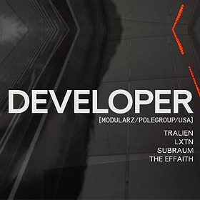 Imprezy:  Subraum pres. Developer (Modularz / Pole Group - USA)