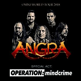 Koncerty: Angra Omni World Tour 2018