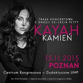 "Koncerty: Kayah / ""Kamień"" - 20 lat płyty"