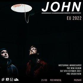 Pop / Rock: JOHN (TIMESTWO) | POZNAŃ