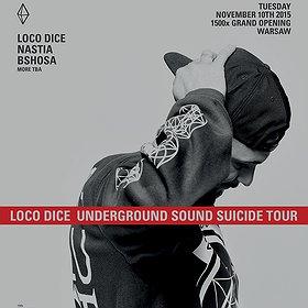 Muzyka klubowa: LOCO DICE & NASTIA: 1500m2 Grand Re-Opening