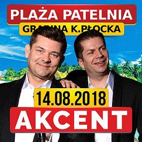 Koncerty: Koncert Zespołu Akcent na Plaży Patelnia