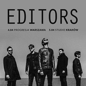 Koncerty: EDITORS w Warszawie