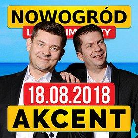 Concerts: Koncert Zespołu Akcent w Nowogrodzie