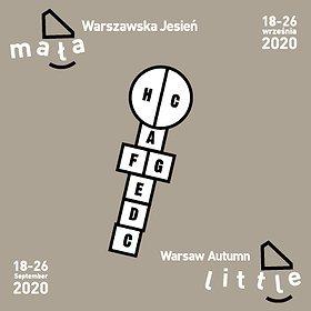 """Festiwale: Festiwal Muzyki Współczesnej dla Dzieci """"Mała Warszawska Jesień"""" 18-27 września 2020"""